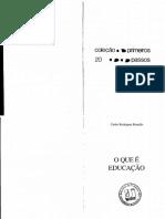 BRANDÃO, C. R. O que é educação.pdf