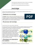 Qué Es El Reciclaje1