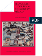 Relaciones Geográficas del Siglo XVI:Mexico