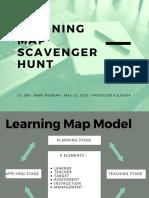 learning map scavenger hunt