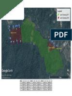 Koordinat Batas Land Clearing Tahun 2018