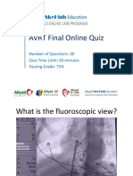 AVRT Final Online Quiz 02 06 18