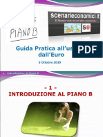 Paolo Savona - Guida Pratica All'Uscita Dall'Euro (3 Ottobre 2015)