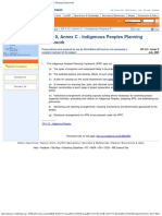 OP 4.10 - Annex C - Indigenous Peoples Planning Framework