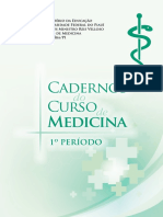 Caderno Do Curso de Medicina - 2016.2 - 1 PERIODO