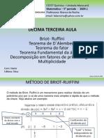 Briot Ruffini