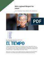 Entrevista a Fernán González 2015