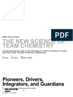 The New Science of Team Chemistry