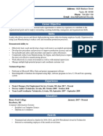 resume - edited with skills  1