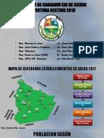 Municipio de Caranavi Cai de Cierre 2018 Ultimo