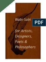 Wabi-Sabi for Artists,Designers,Poets & Philosophers