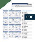 Copia de Perpetual Calendar