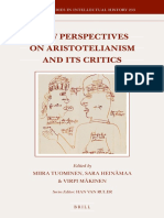 Miira Tuominen - New Perspectives on Aristotelianism and Its Critics