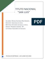 Glosario de Estudios Sociales y Cívica.