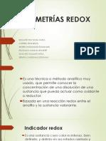VOLUMETRÍAS-REDOX