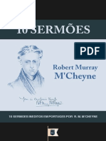 10 Sermoes, Por R. M. M'Cheyne - Robert Murray M'Cheyne