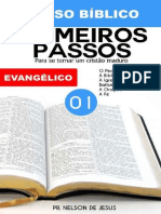 Curso Biblico 1_ Primeiros Pass - Pr. Nelson de Jesus