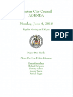 City Meeting 6.2.2018
