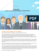 Guide to Determining Employee Classification