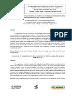 I CBRRD - Avaliação das Iniciativas de Redução do Risco de Inundação emergentes após o mega desastre de 2011 em Nova Friburgo