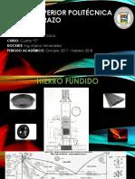Exposición Hierros Fundidos_ Materiales