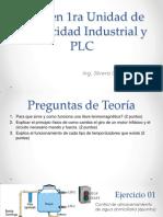 1er Examen de Electricidad Industrial y PLC A
