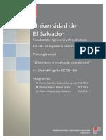 Trabajo Remunerado en El Salvador