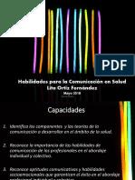 Habilidades Para La Comunicacion en Salud REsumido Lita Ortiz