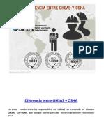 2.- OHSAS Y OSHA