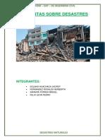 Grd- Preguntas Sobre Desastres- Grupo 4