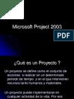 Presentacion Project Vesion 2003