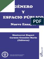 Montserrat Huguet y Carmen González (eds.) - Género y espacio público - nueve ensayos