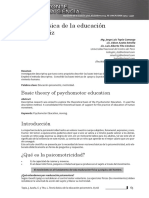 Teoria de La Educación Psicomotriz