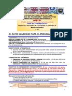 Guia 5, Propuesta Para Un Plan de Mantenimiento, Factores Generales