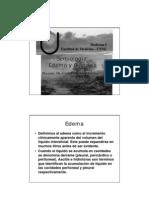 Semiologia Edema y Cianosis
