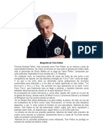Biografía de Tom Felton MAXIMILIANO