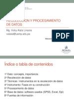 Clase 10 -Recolección y Procesamiento de Datos
