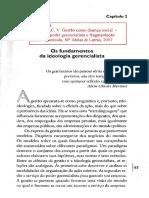 GAULEJAC, Vincent. Gestão Como Doença Social - Cap. 2, Os Fundamentos Da Ideologia Gerencialista