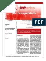 Ser Competitivo