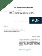 U1_Plano Vectorial,Vectores R2