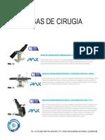 Catalogo Equipo de Quirofano