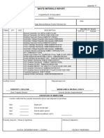 Waste Material Form-17