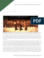 Reflexiones Sobre La Realidad Del Movimiento Sindical Uruguayo