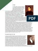Tres Presidentes de Guatemala Biografia y Traduccion a Ingles