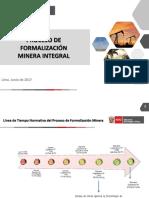 Ppt - Proceso de Formalización Minera Integral y Ds 018 19062017