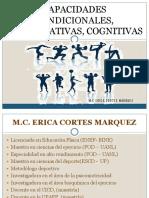 Capacidades Condiconales, Coordinativas, Cognitivas