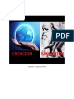 tabla comparativa de la teoria de evolucion