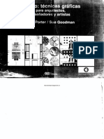 Técnicas gráficas para arquitectos y diseñadores [Porter-Goodman] [Cp©].pdf