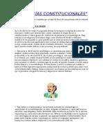 TIPOLOGÍAS CONSTITUCIONALES