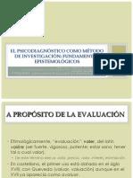 El Psicodiagnóstico Como Método de Investigación